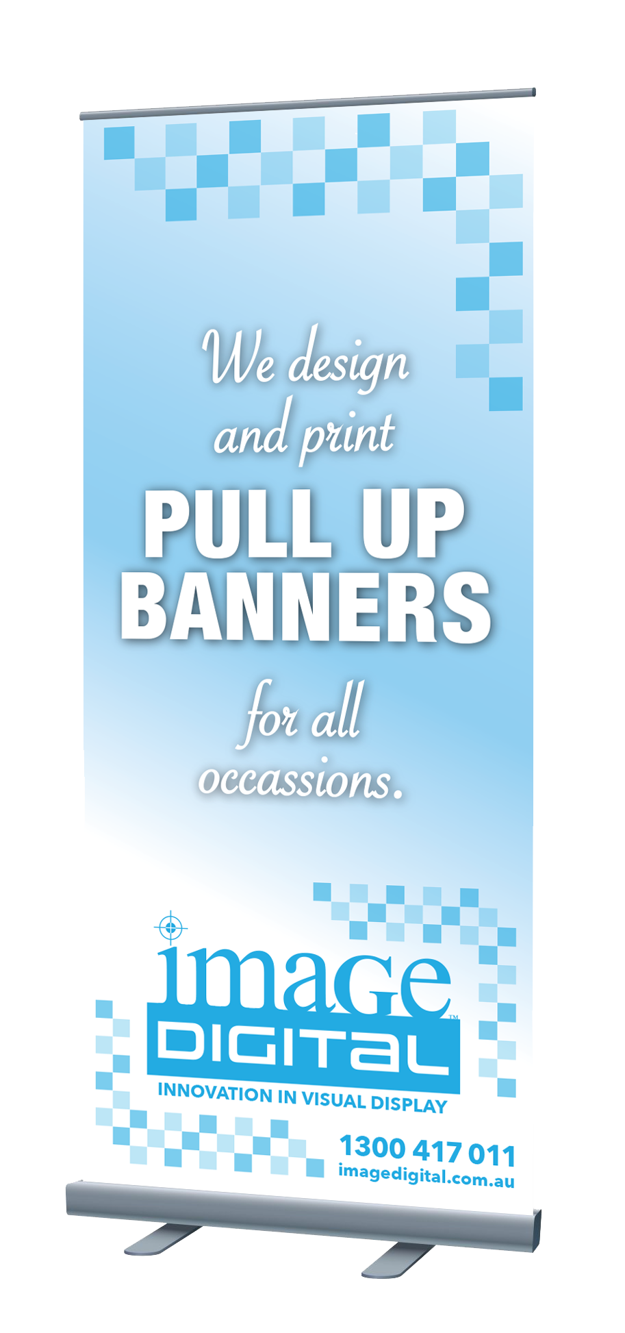 Pull Up Banner - Economy