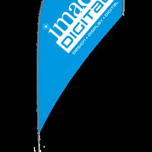 Tear-Drop Banners